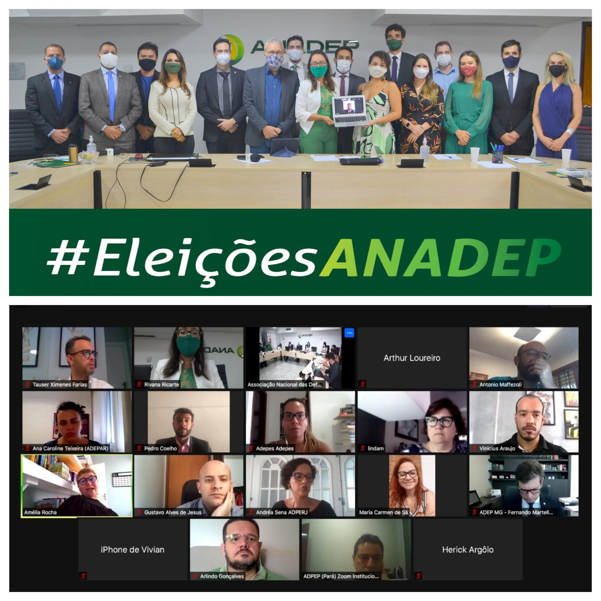 ANADEP elege nova diretoria para biênio 2021-2023