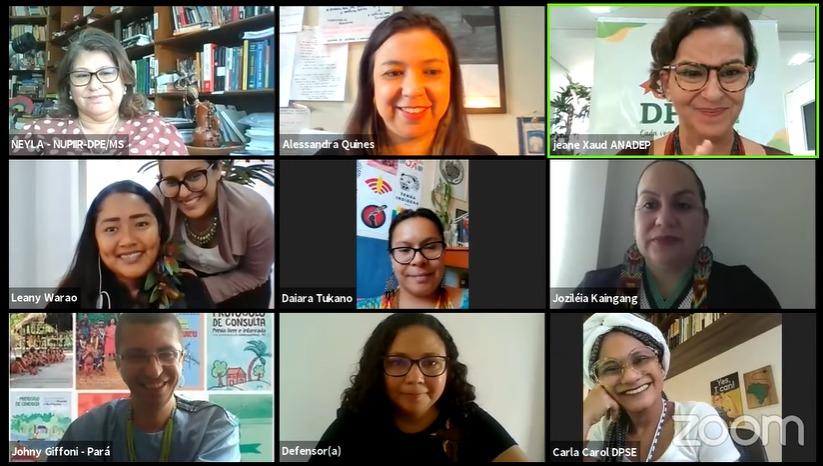 Direitos das mulheres indígenas é destaque em capacitação promovida pela ANADEP e ENADEP